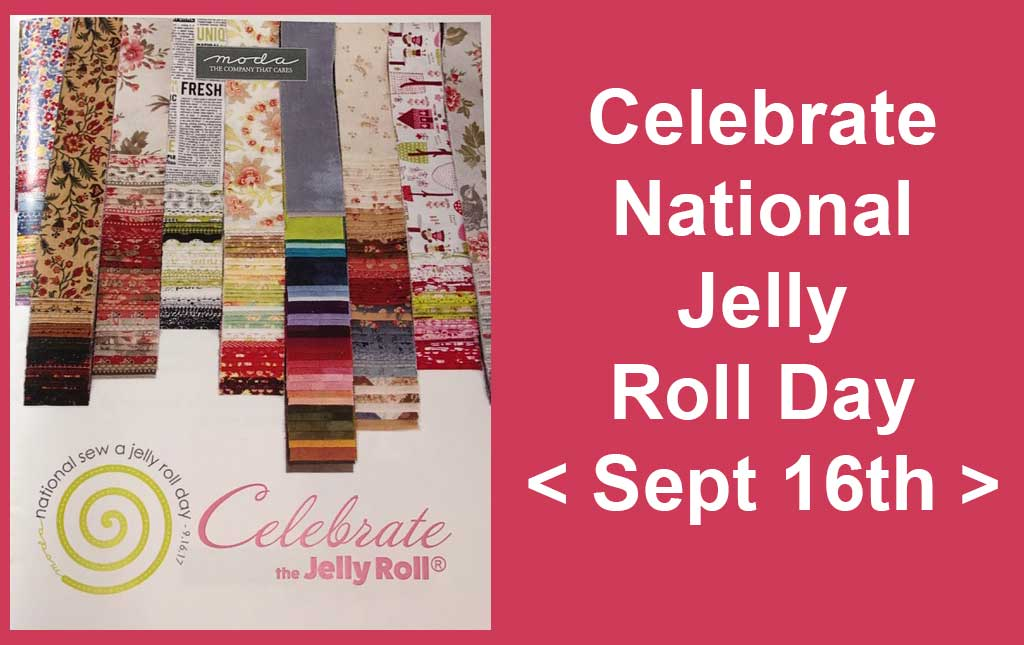 National Jelly Roll Day - Sept 16th