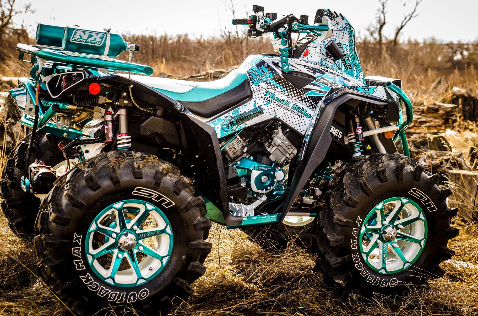 Demon Heavy Duty ATV/UTV Axles - Can Am Renegade 1000R XMR