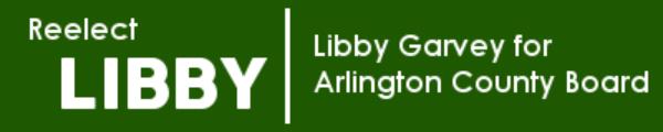 Libby Garvey for Arlington County Board