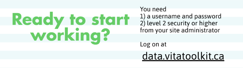 """A page from our summer training infographic - """"Ready to start working?"""" with information about account registration"""