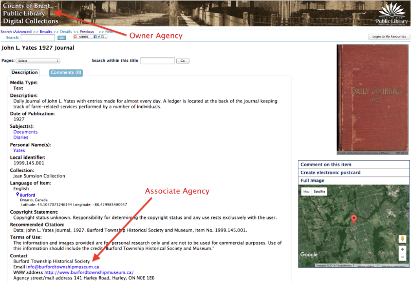 Associate Agency Example