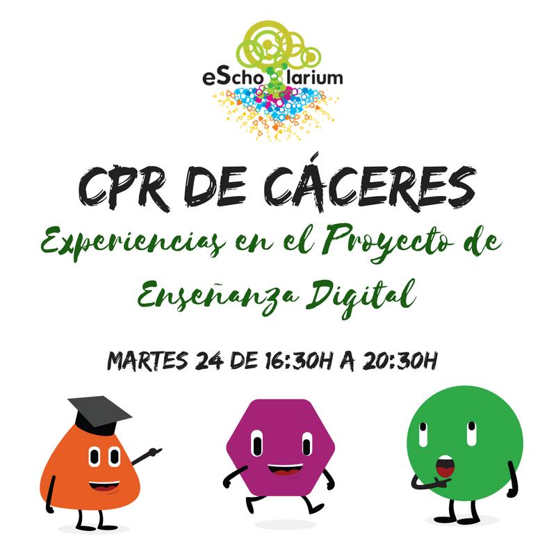 Jornada CPR Cáceres escholarium