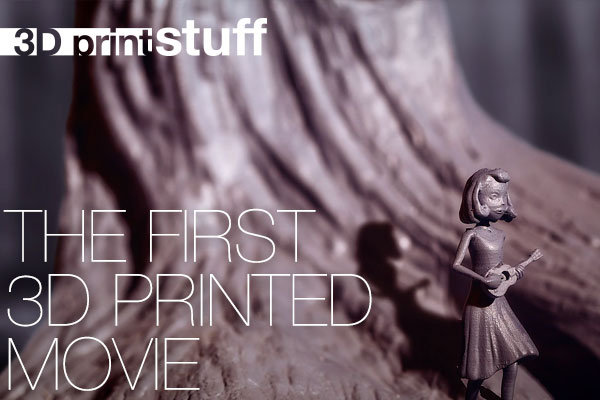 ▅▅ 3D print stuff - The first 3D printed movie