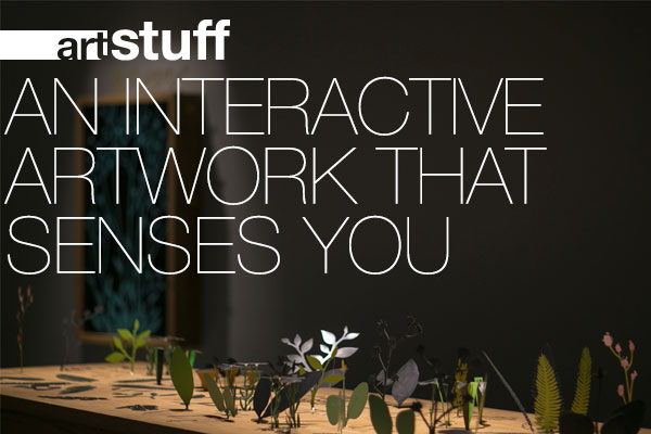 ▅▅ art stuff - An interactive artwork that senses you