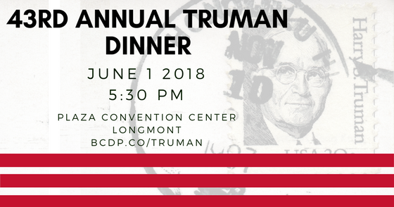 Boulder County Truman Dinner