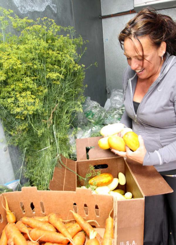 Farm to School is a succes thanks to Arlene Jones