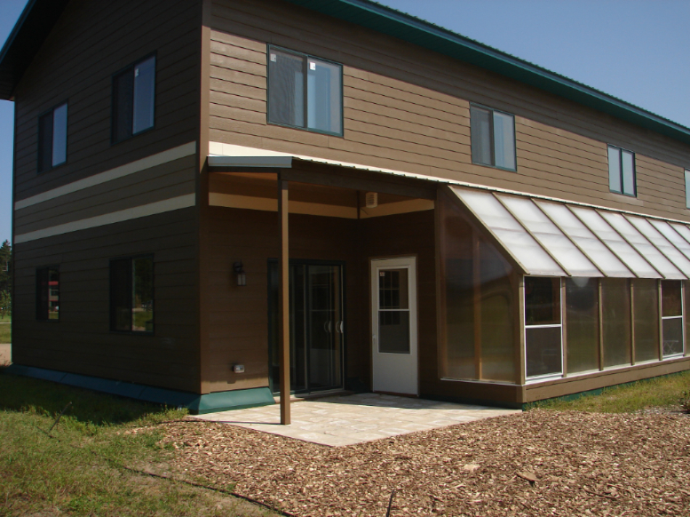 Rental Units each have a private greenhouse!