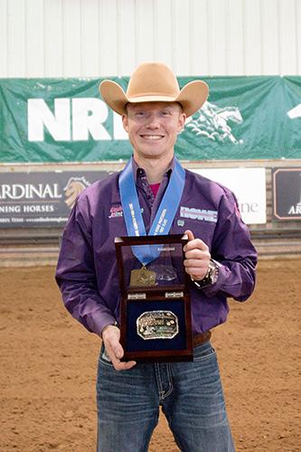 Cody Garrison (© NRHA)