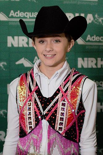 Madison Rafacz Wins Third Adequan® NAAC Title with Wimpys Dun Twistin (© NRHA)