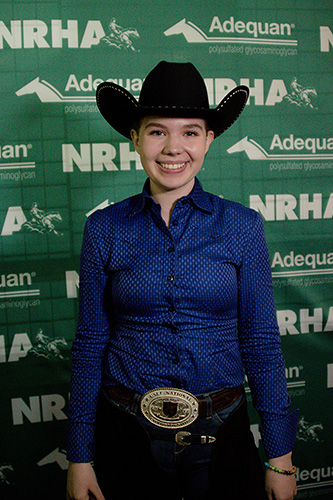 """Kalena Reynolds and """"Gun Whiz It Win"""" Toyon Ranch – Rookie of the Year"""