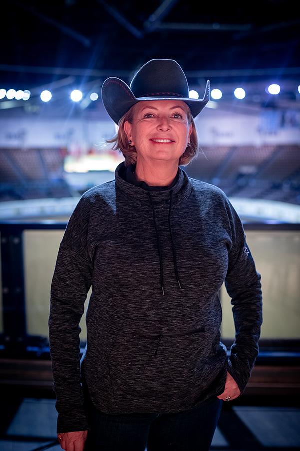 Francesca Sternberg Awarded 2019 British Equestrian Federation Medal of Honour (© NRHA)