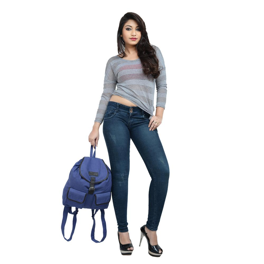 HideKraft: Hidemaxx Canvas Leather Backpack @ Rs.333/-