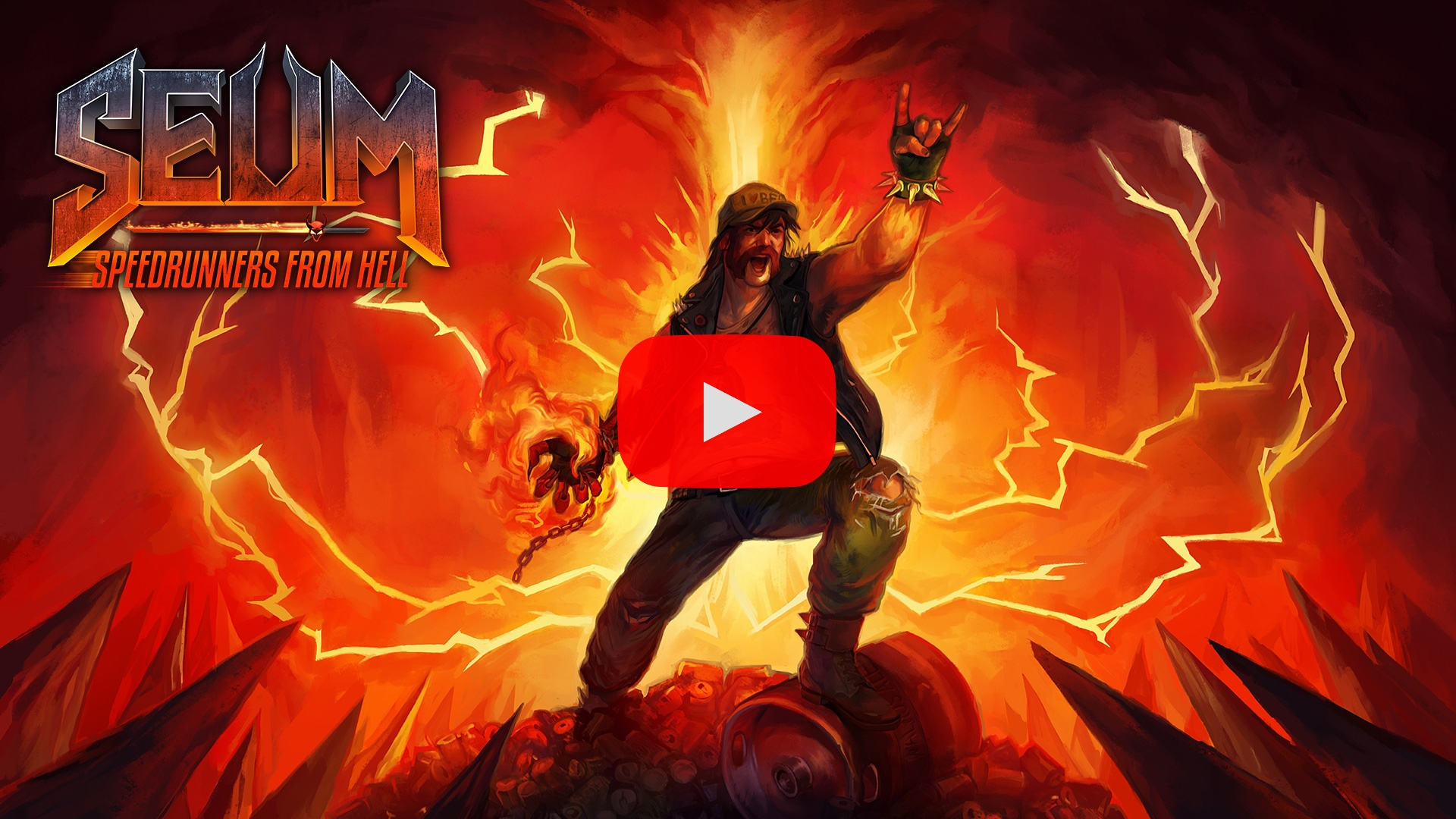 SEUM: Speedrunners from Hell - Release Trailer