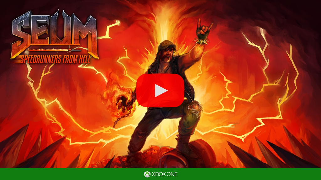 SEUM: Speedrunners from Hell - PS4™ / Xbox One Announcement Trailer