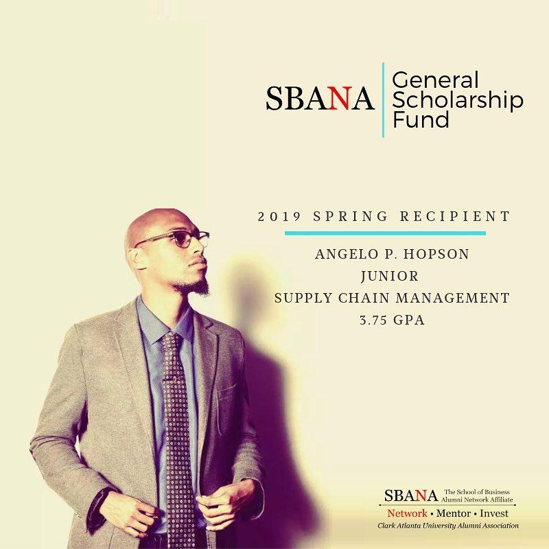 Angelo P. Hopson SBANA General Scholarship Spring 2019