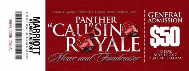 Pather CAUsino Royale Mixer & Fundraiser