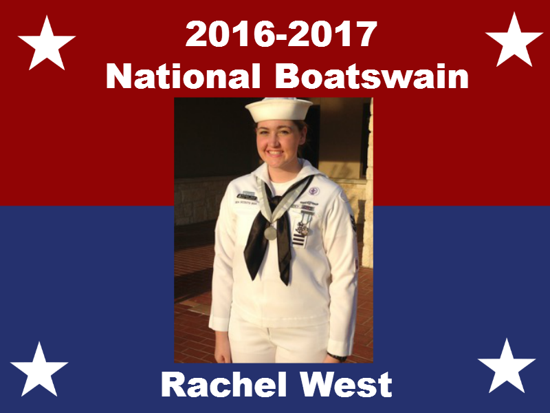 Rachel West - 2016-17 National Boatswain