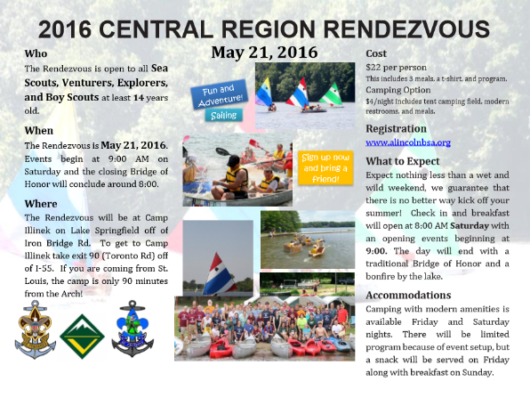 Central Region Rendezvous
