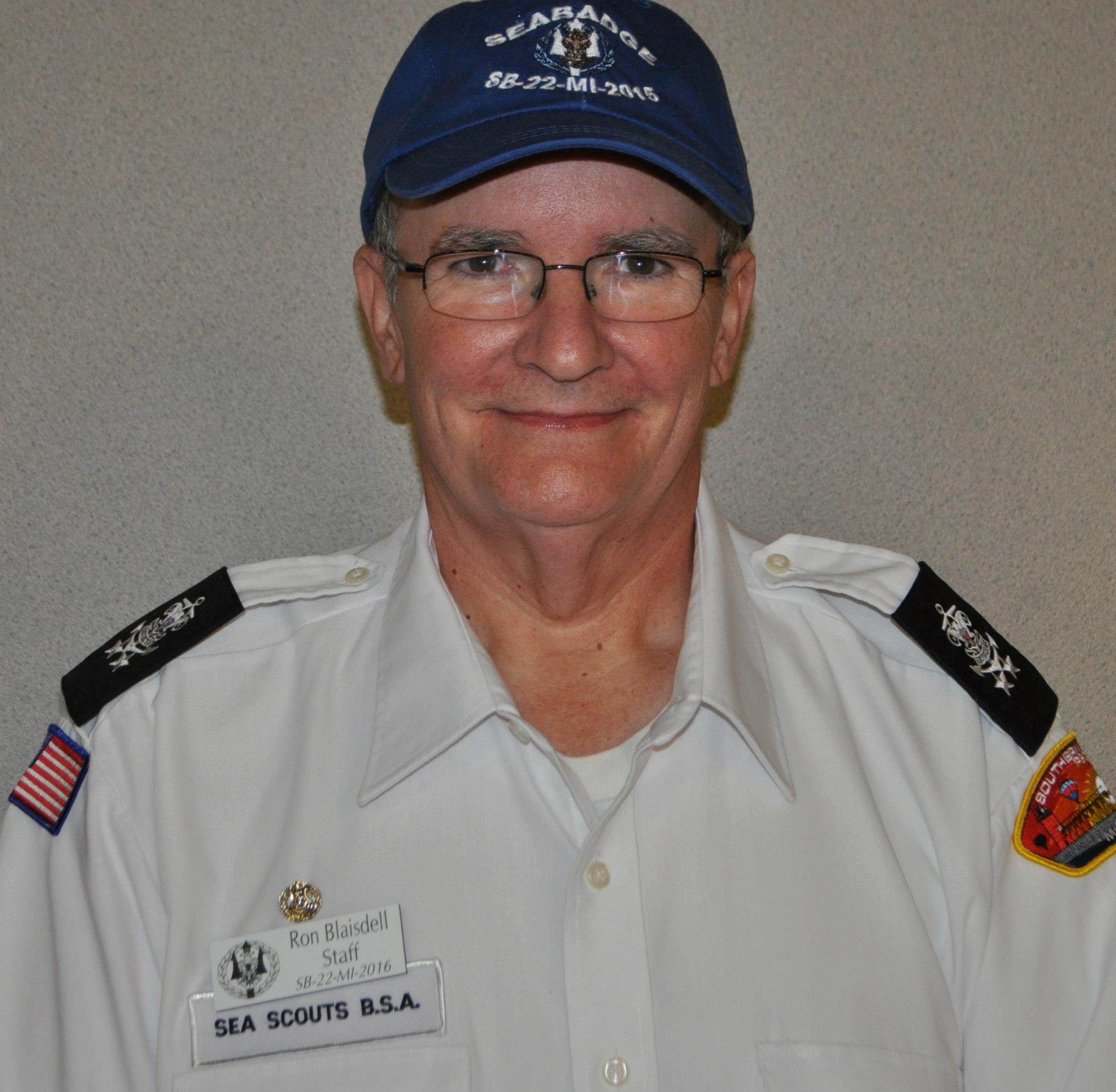 Ron Blaisdell - Central Region Sea Scout Service Committee Member - Communications