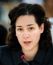 Elissa Golberg Assistant Deputy Minister – Partnerships for Development Innovation at the Canadian Department of Foreign Affairs, Trade and Development (Global Affairs Canada)