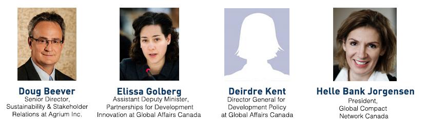 SDG Survey 2017 discussion speakers