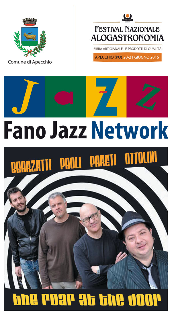 Jazz in Provincia tappa ad Apecchio - The roar at the door 4et