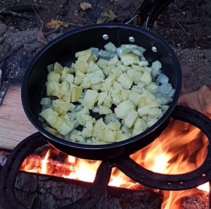 Woodland cooking!