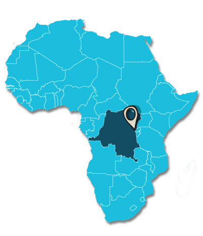 Map of Goma Congo
