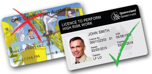 Statewide Forklift High Risk Licence