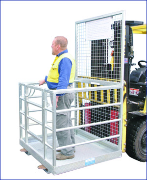 Statewide Forklift Work Cage
