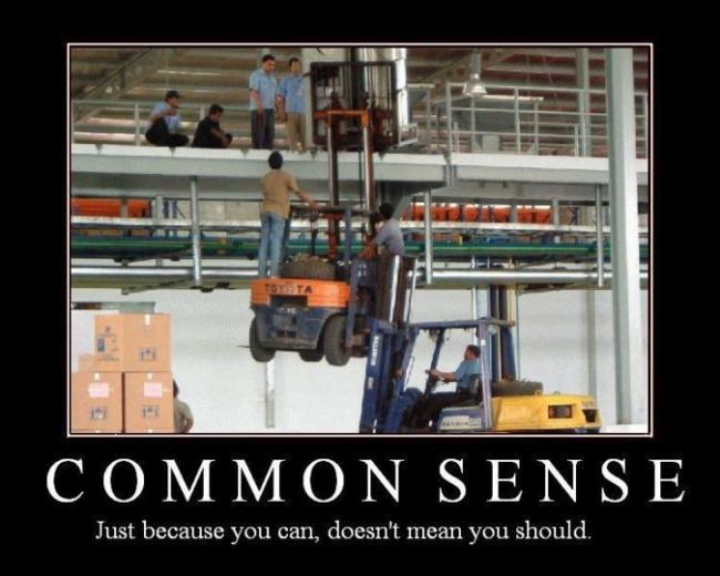 Statewide Forklift Safety Fail joke