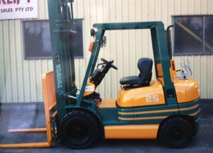 Statewide Forklift Custom Paint job