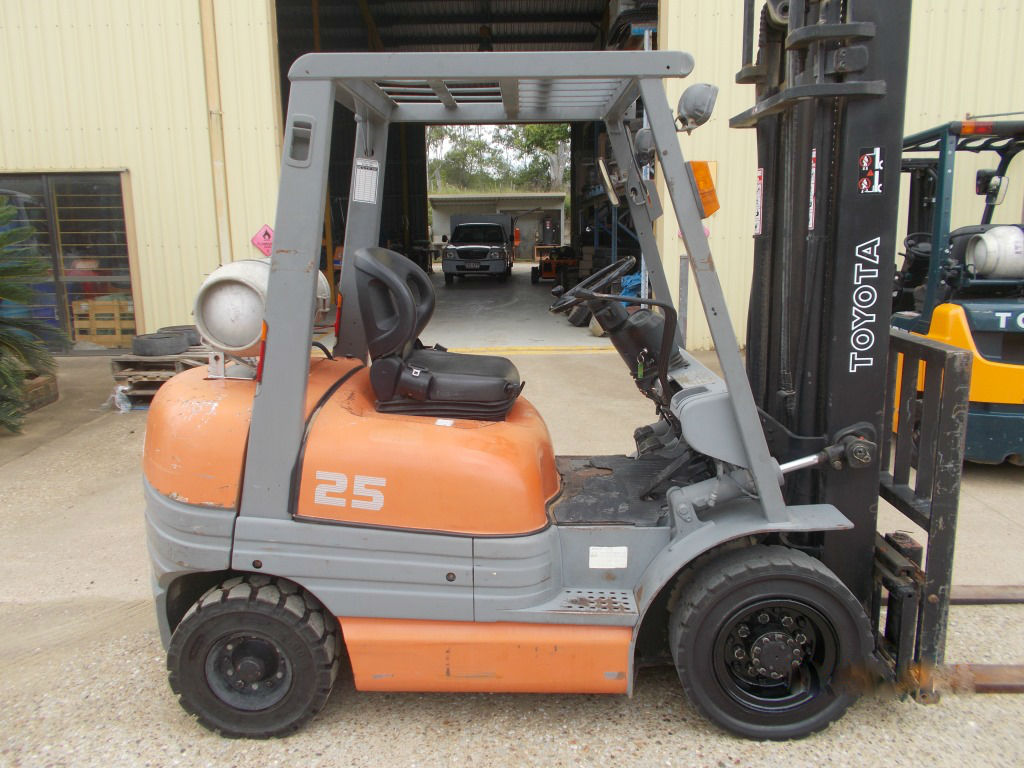 Used Toyota Forklift Statewide Forklift