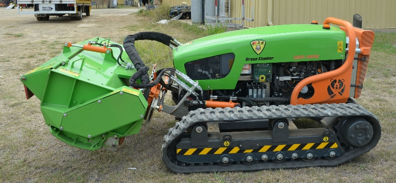 Statewide Forklift Green Climber