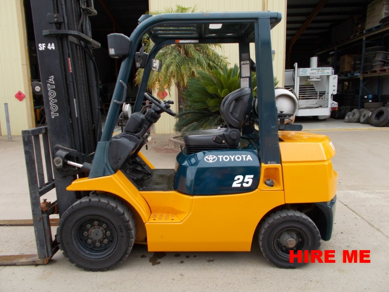Statewide Forklift Toyota Hire forklift
