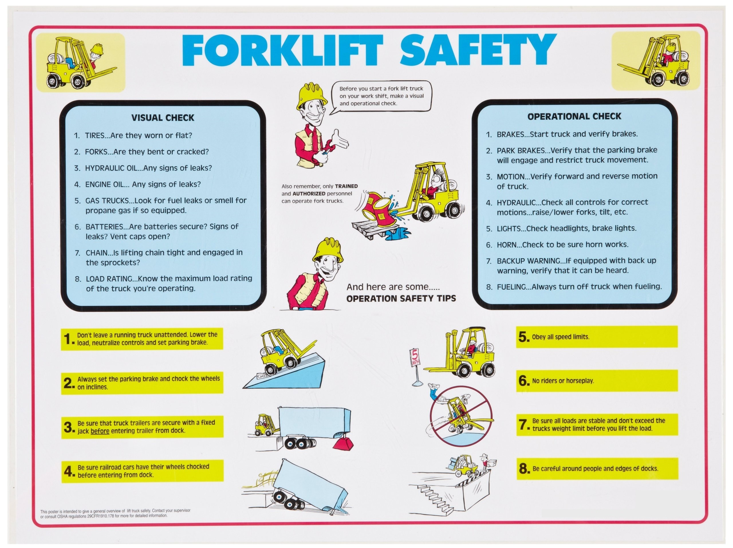 Statewide Forklift safety checklist