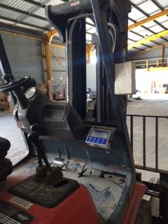 Statewide Forklift Linde Forklift Weight Gauge