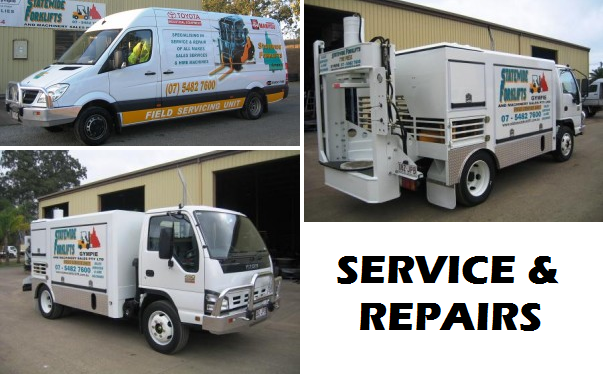 Statewide Forklift service vehicles