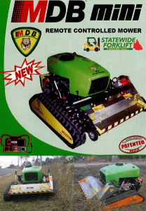 Statewide Forklift Mini Green Climber