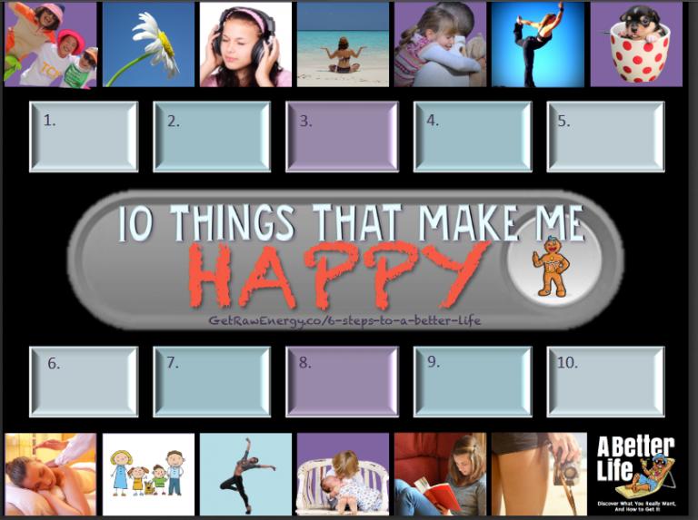 how to feel happy