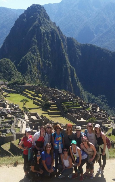KU Students at Machu Pichu