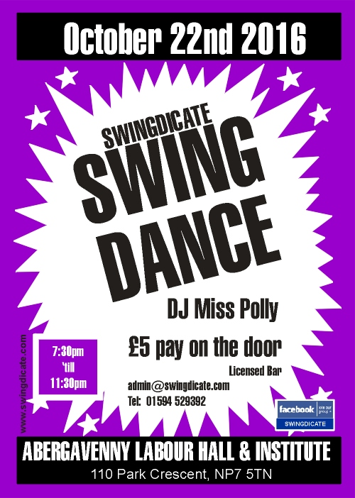 Swingdicate 22nd October