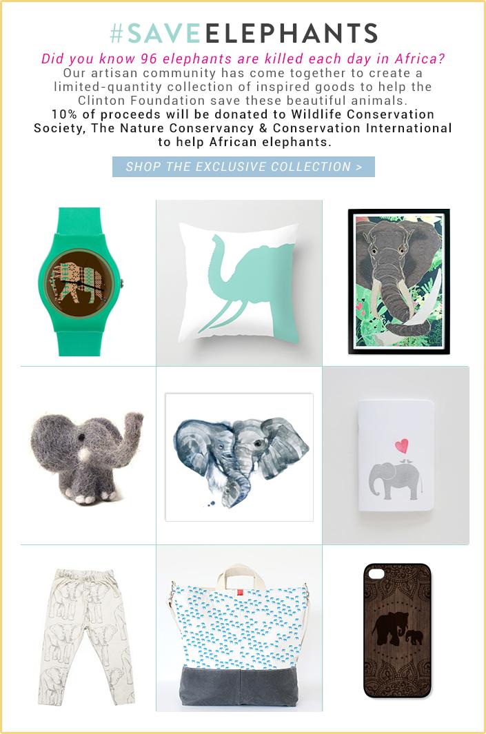 #SaveElephants