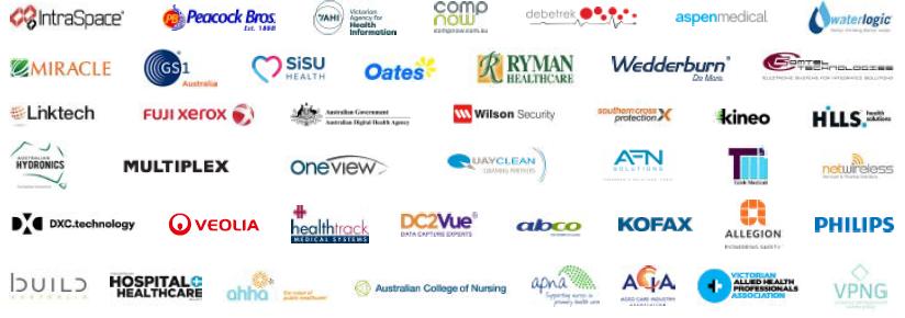Victorian Healthcare Week Sponsors