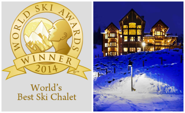 Our lodge Bighorn Revelstoke  has been voted the World's Best Ski Chalet for the second time at the World Ski Awards