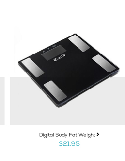 Digital Body Fat Weight