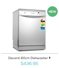 Devanti 60cm Dishwasher