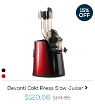 Devanti Cold Press Slow Juicer
