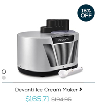 Devanti Ice Cream Maker
