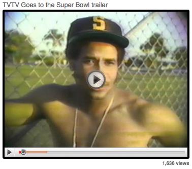 TVTV Goes to the Superbowl Trailer